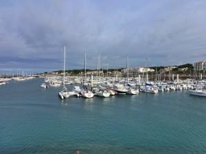 The port at Jard-sur-Mur, France 2014
