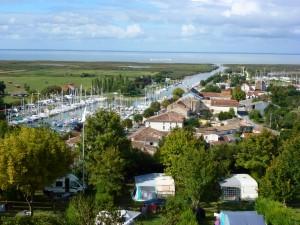 The Port of Mertagne-s-Gironde, France.  2014