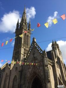 Notre Dame, Saint-Pol-de-Leon, Brittany.  2014