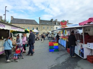Market day Saint-Pol-de-Leon.  Fish for dinner tonight. Brittany.  2014