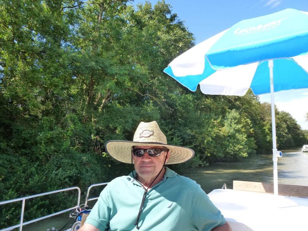 The Captain, The Midi Canal, France.  2014
