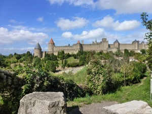 The Medieval City, Carcassonne, France.  2014