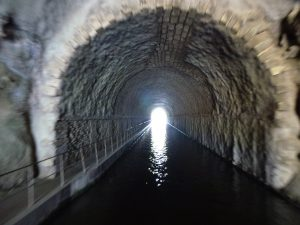 'The light at the end of the tunnel', Midi Canal.  France.  2014