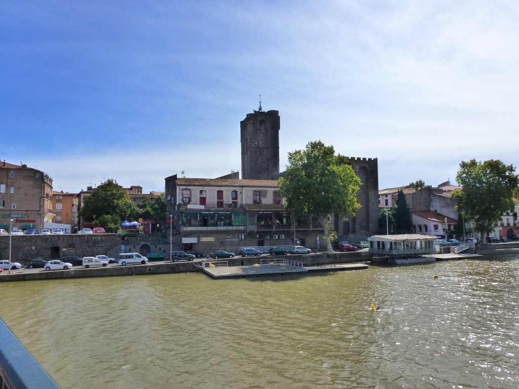 The River L'Herault, Adge, France.  2014