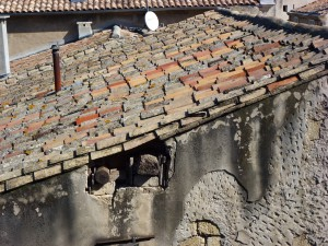 Looks like the building code needs an update, Aigues-Morts, France.  2014