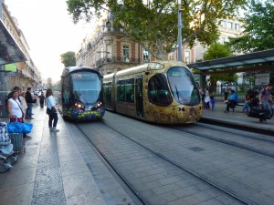 The public transport in Montpellier and France in general is so good.  2014