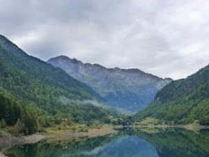 Lake    , France.  2014