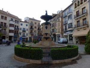 The village square, Segorbe, Spain.  2014