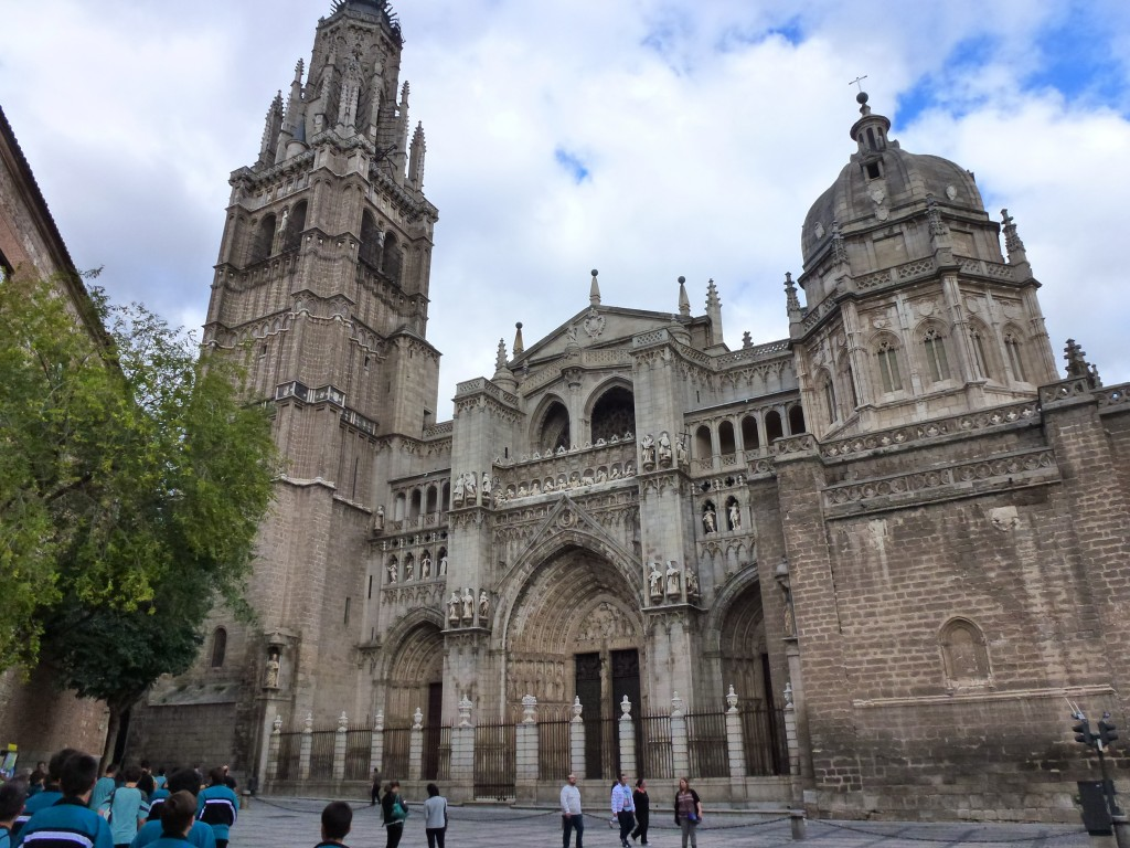 The Cathedral, Toledo, Spain.  2014