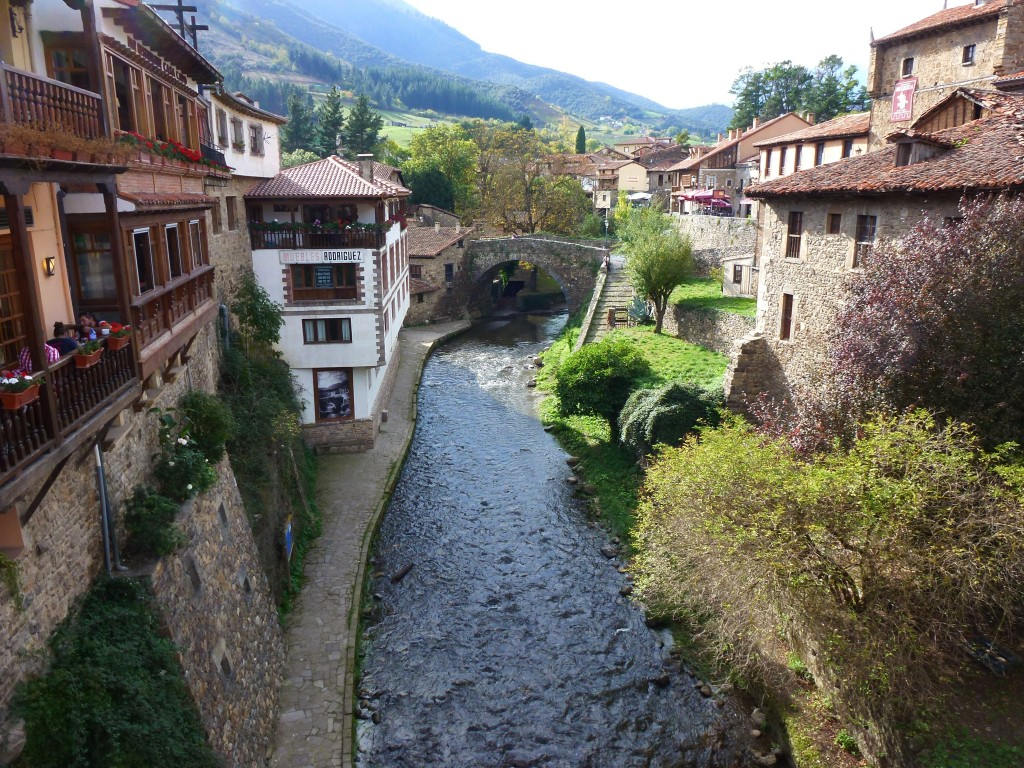 Rio Cares, in beautiful Potes, Spain.  2014