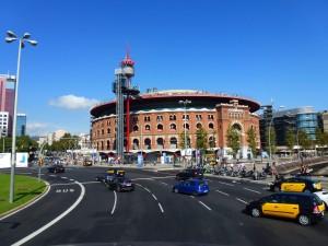 The Bullring, Barcelona, Spain.  2014