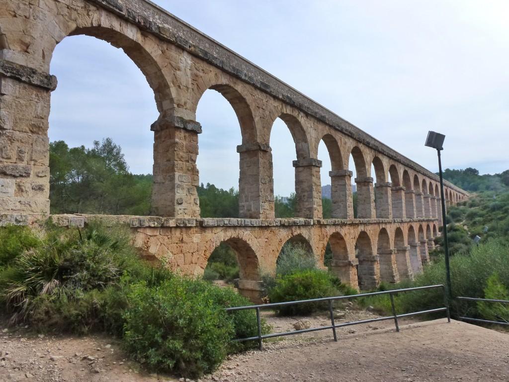 The Roman Aquaducte, Tarragona, Spain.  2014