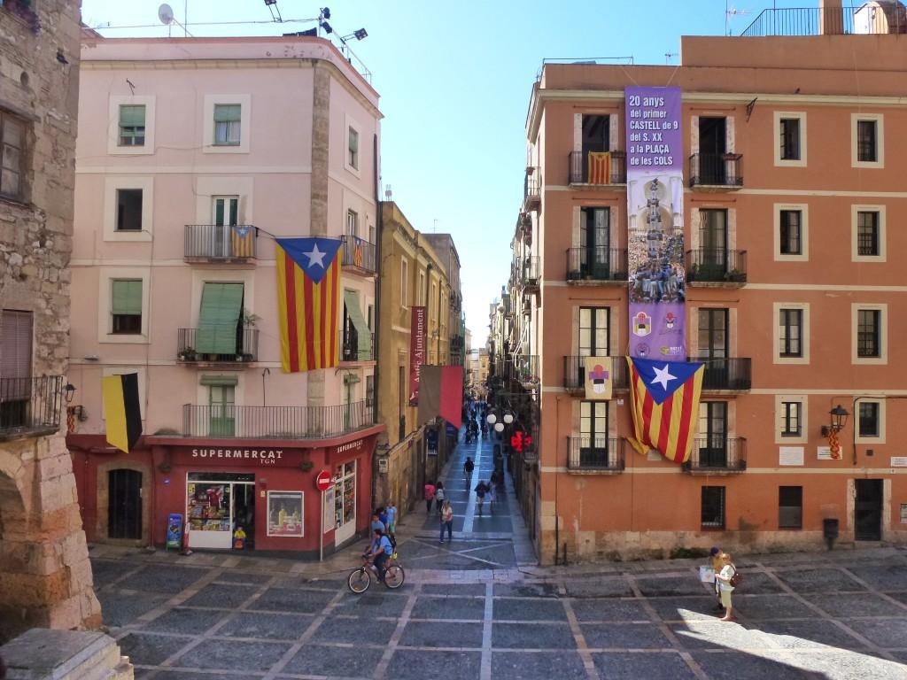 The beautiful streetscapes of Tarragona, Spain.  2014