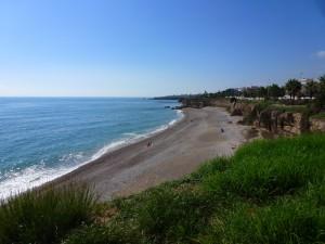 Our beach in Vinaros, Spain.  2014