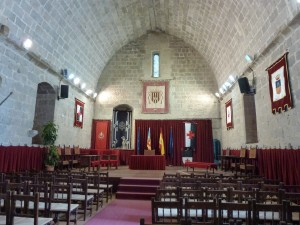 The Templar Church, looks like it ready for a lodge meeting, Peniscola, Spain.  2014