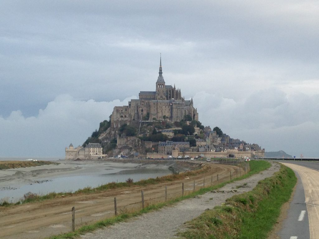Mont Saint Michel, striking even from a distance