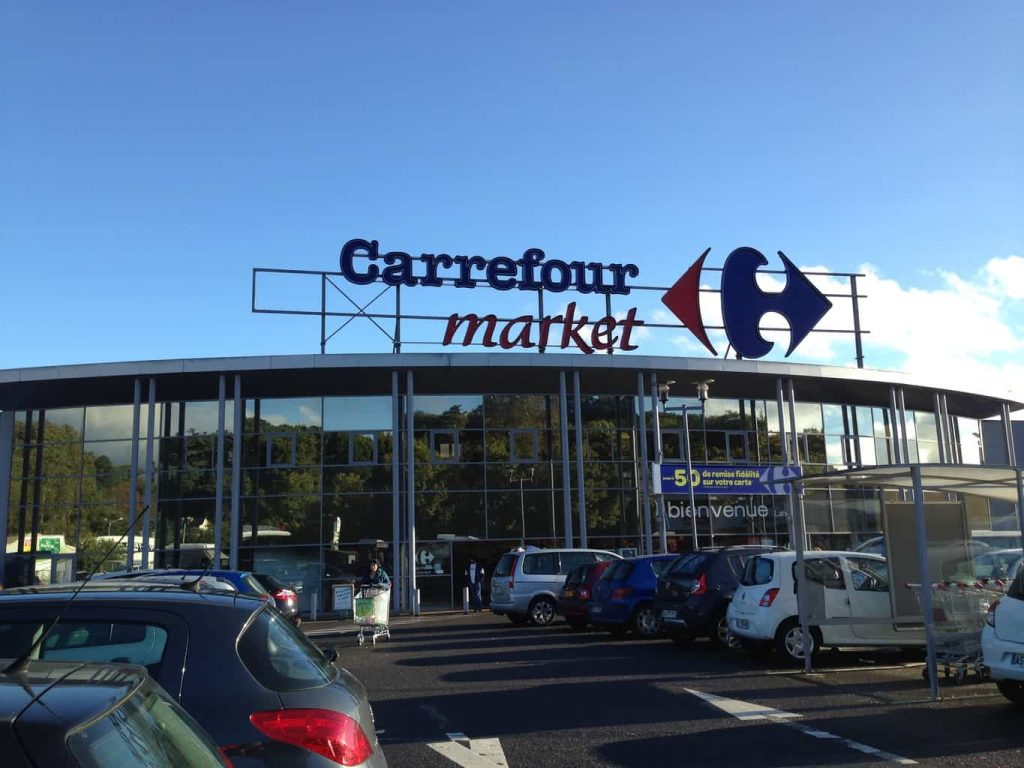 We love Carrefour, not just a good supermarket but an easy place to park