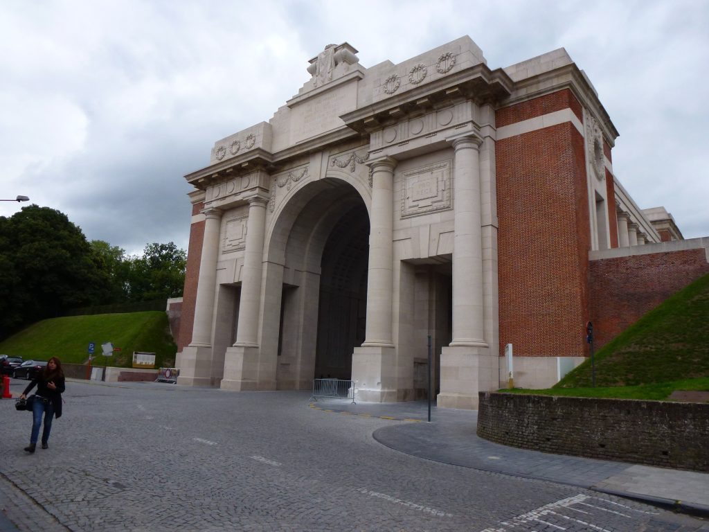 The Menin Gate.