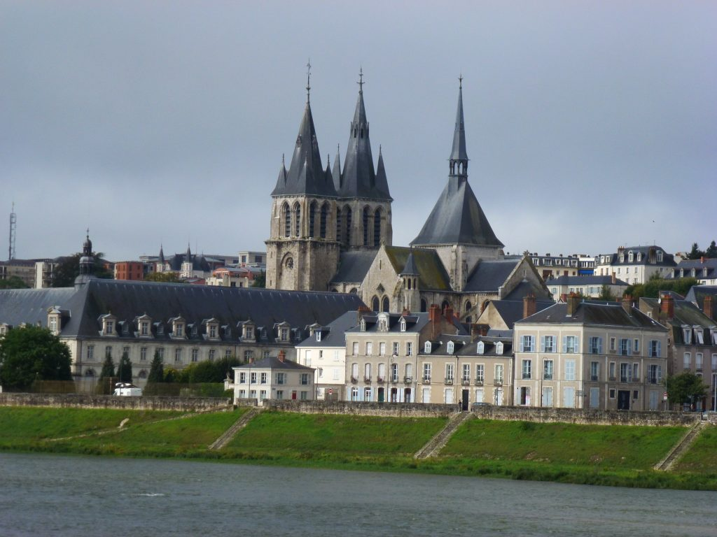 Blois Cathedral across the Loire