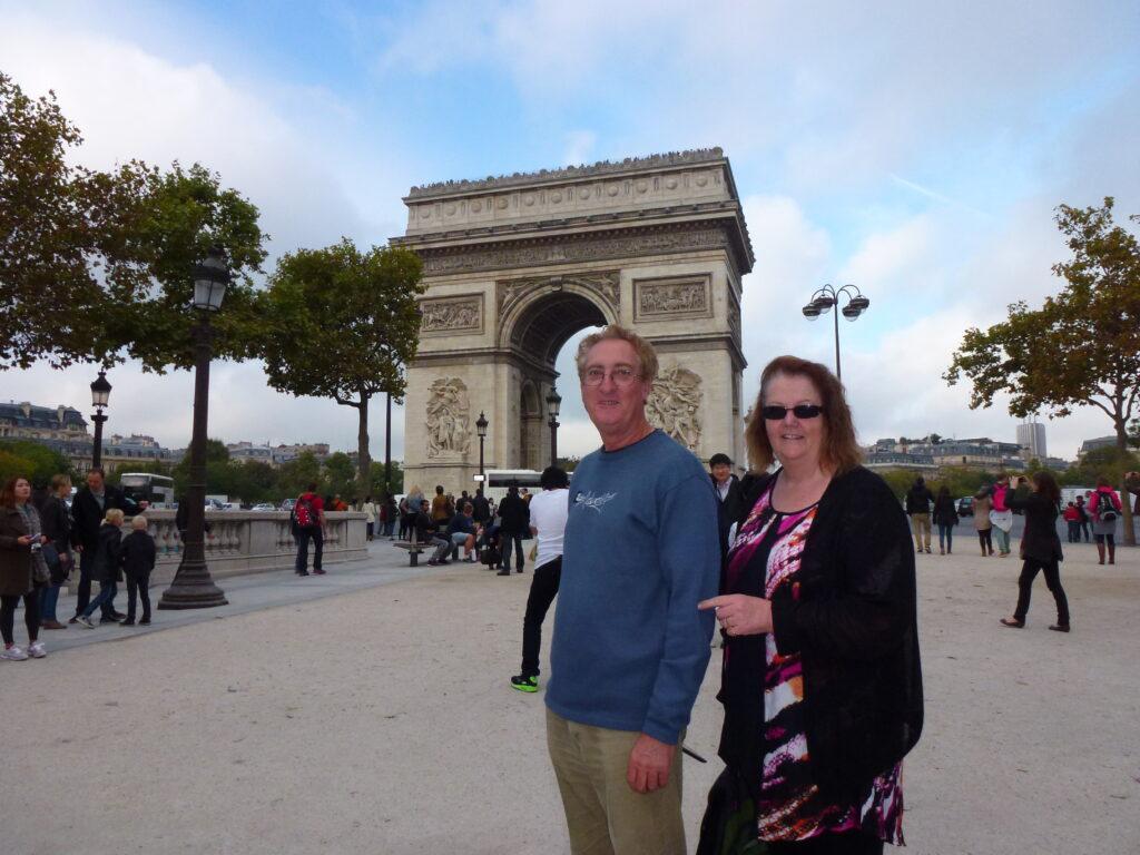 Metro to the Arc de Triomphe, Paris
