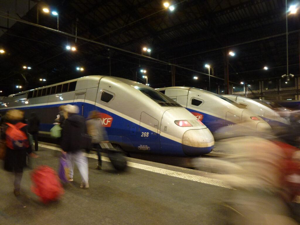Our TGV to Lyon