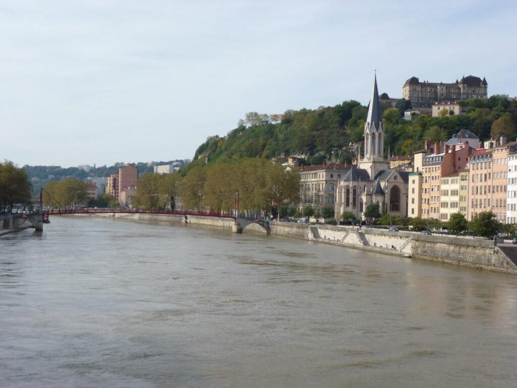 Across the La Saone toward the 5th arrondissement