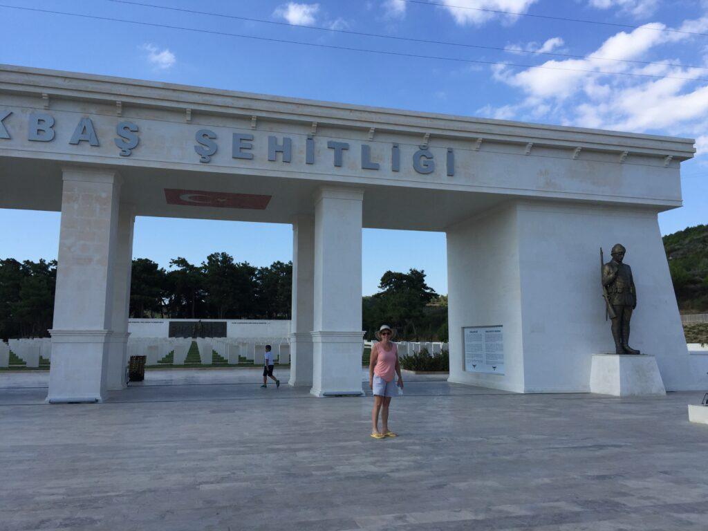 Turkish War Memorial at Gelibolu