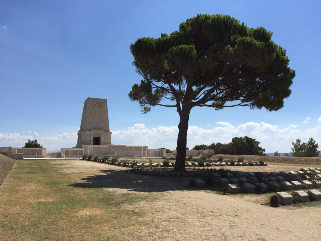 Lone Pine Cemetery and Memorial.