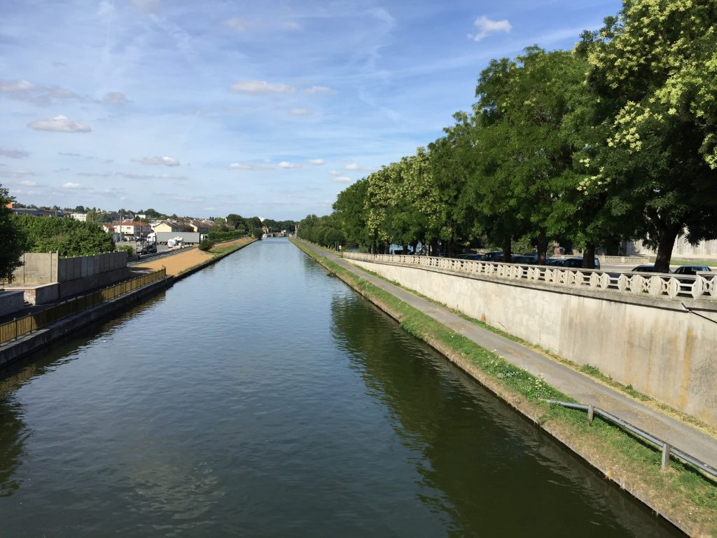 The canal at St-Quentin, France.