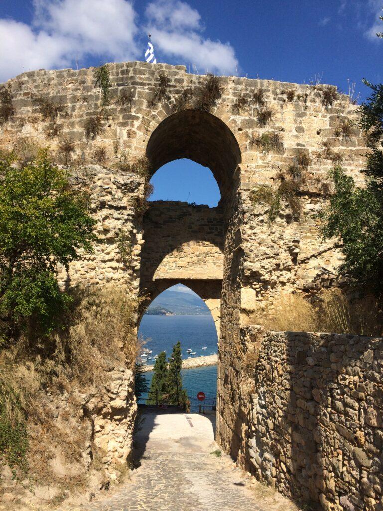 The main gate into the Venitian Castle at Koroni.
