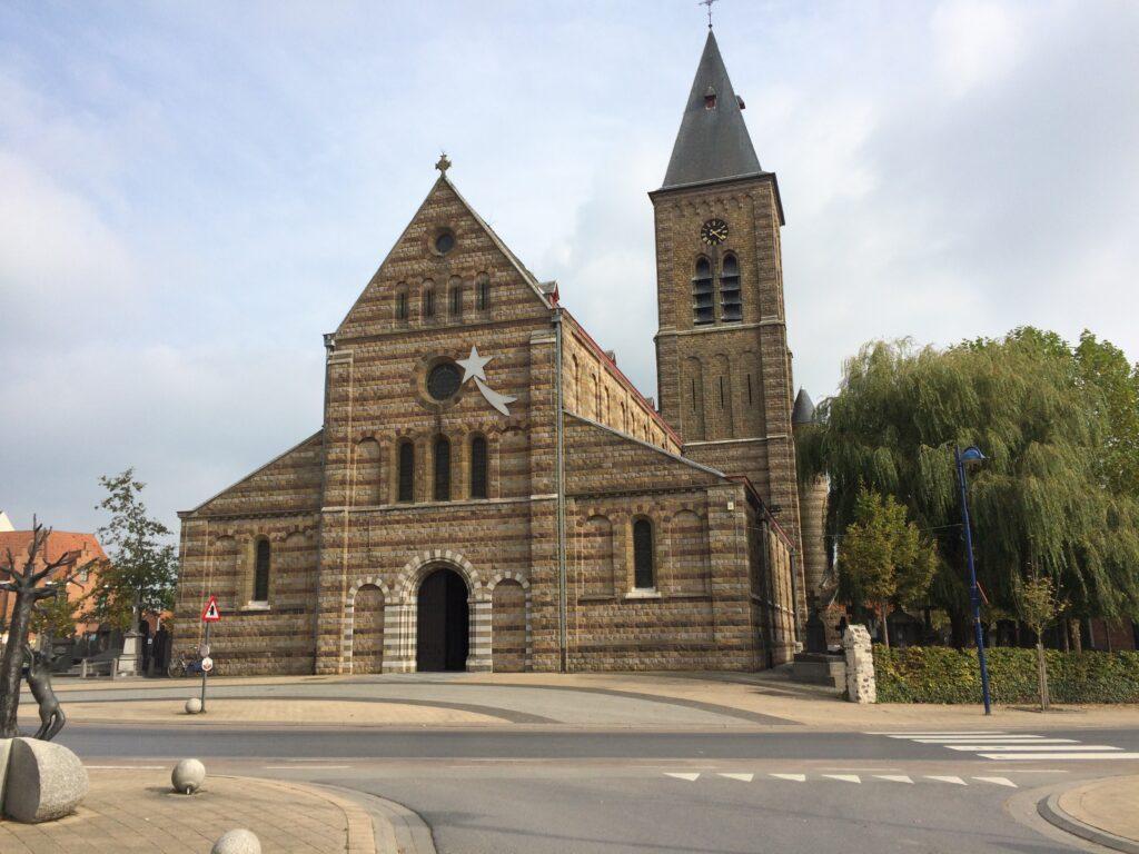 The village church in Passchendaele.