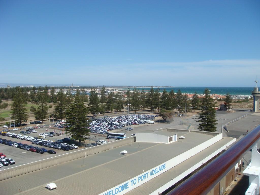 Port Adelaide, SA. Nice Carpark !